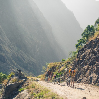 Annapurna Curcuit By bike
